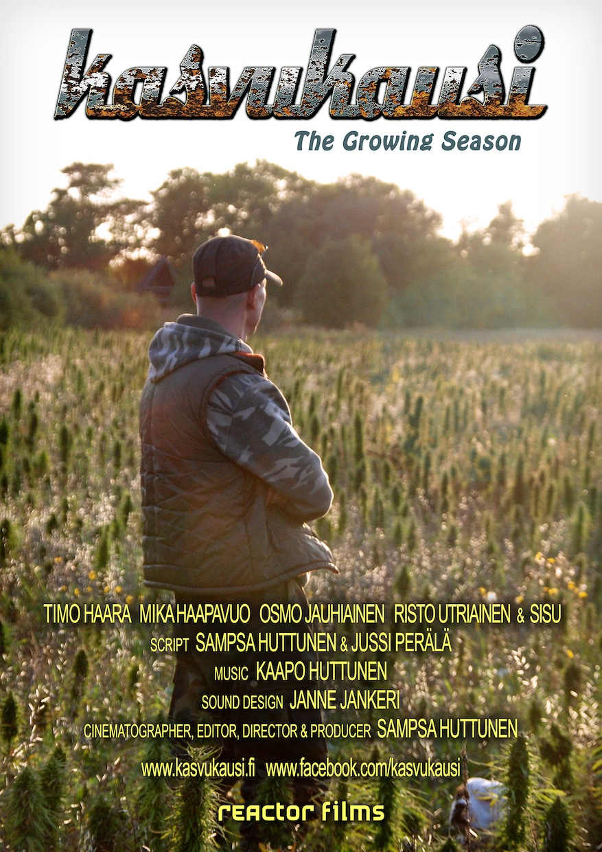 Poster for Kasvukausi (The Growing Season). Photo: Sampsa Huttunen