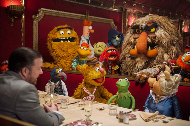 Poster of the fim Muppets Most Wanted