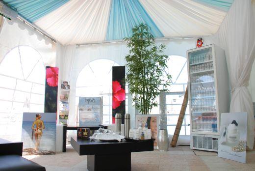 Le Spa des stars de Cannes, sur la terrace du Cannes Hilton, le top du top!