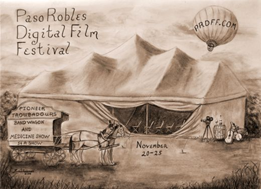 Wild West Film Fest Tent