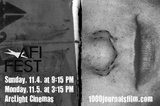 1000 Journals AFI Fest