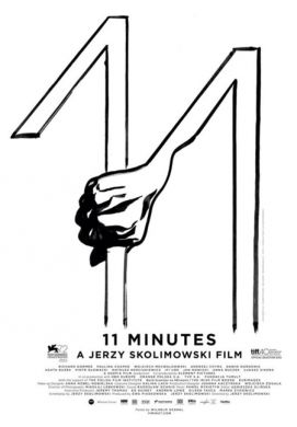 Poster for 11 Minutes, directed by Jerzy Skolimowski