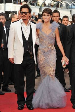 Actor Johnny Depp Penelope Cruz