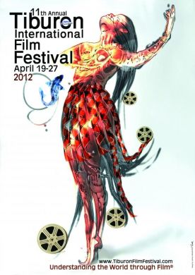 Tiburon International Film Festival poster was selected as one of the 'Awesome Film Festival Posters for 2012'