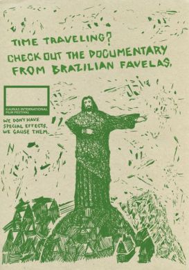 Time traveling? check out the documentary from Brazilian favelas.