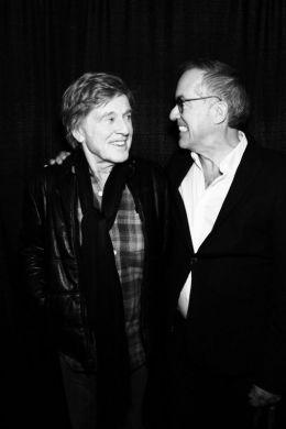 John Cooper and Robert Redford