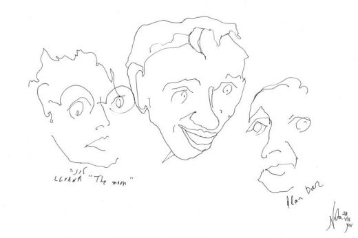 The Farewell Party, Mita Tova, Venice International Film Festival 2014, Sketch by Nesta
