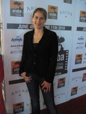 Vanessa at Aruba International Film Festival