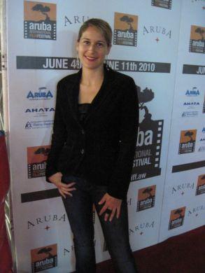 Vanessa at Aruba International Film Festival