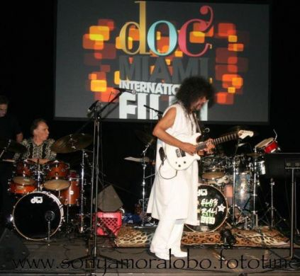 "Javier Batiz ""The Godfather of Mexican Rhythm and Blues"" Performing at DocMiami 2011"