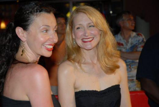 Ruba and Patricia