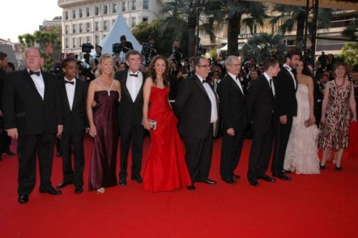 red carpet lookig for Eric