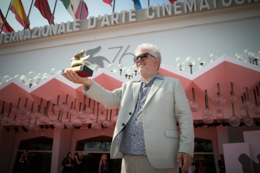 Pedro Almodovar Golden lion