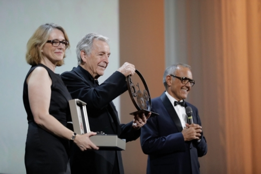 Costa-Gavras awarded the Jaeger-LeCoultre Glory to the Filmmaker 2019 prize