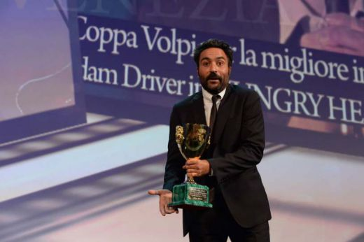 Coppa Volpi for Best Actor to Adam Driver (award presented to Saverio Costanzo)