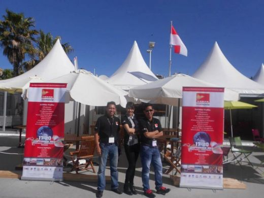 The Indonesian Booth in Cannes