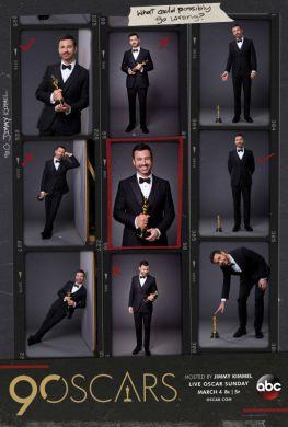 90trh Oscar presented by Jimmy Kimmel