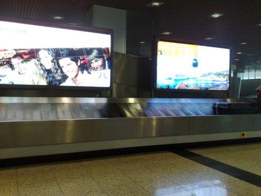 Nicer airport no lugage