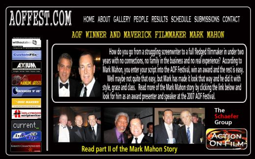 Mark Mahon AOF Success Story!