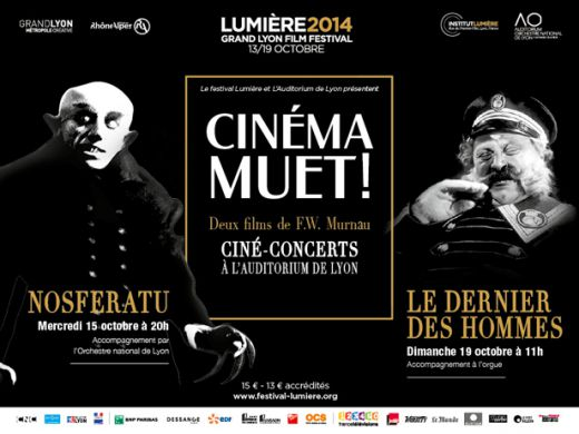 Ciné-concerts: Murnau at the Auditorium of Lyon