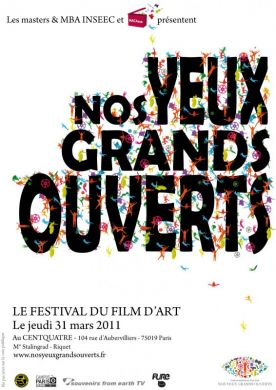 festival Nos Yeux Grands Ouverts le 31 mars à l'espace CENTQUATRE