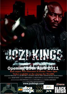 Jozi Kings movie premiere in Nigeria
