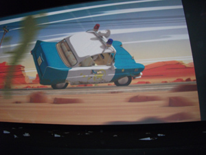 Animation Advert at Festival International Du Film D´ Animation