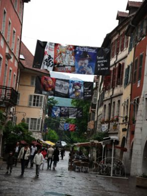 Annecy Town Celebr. Opening of Festival International Du Film D´Animation