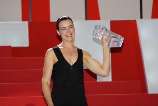 Olivia Williams received FIPRESCI Award on behalf of Roman Polanski