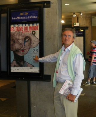 Bruno Chatelin at the Montreal World Film Festival