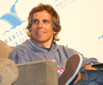 Ben Stiller at Nantucket Film Festival