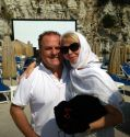 Pascal vicedomini and Trudie Styler