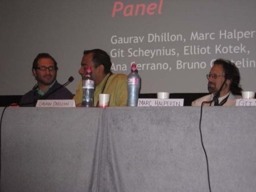 Blockbuster panel future of cinema_