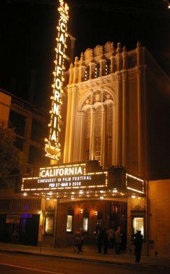 California Theatre in San Jose, California