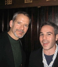 Campbell Scott and Jeff Abramson at 2007 Gen Art Film Festival