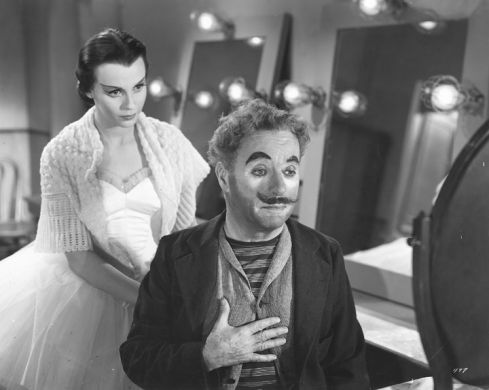 Claire Bloom + Charlie Chaplin in LIMELIGHT