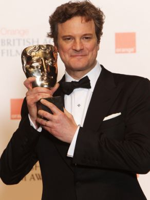 Colin Firth Wins BAFTA Award