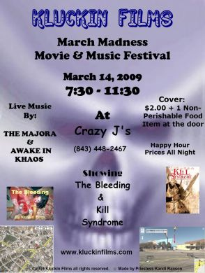 Kluckin Film March Madness Movie & Music Festival 2009
