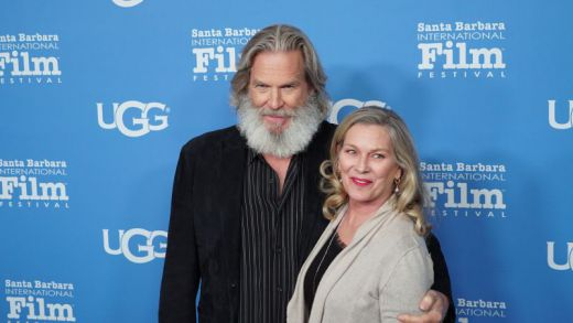 Jeff Bridges and Wife Susan Geston at THE LITTLE PRINCE US Premiere in Santa Barbara