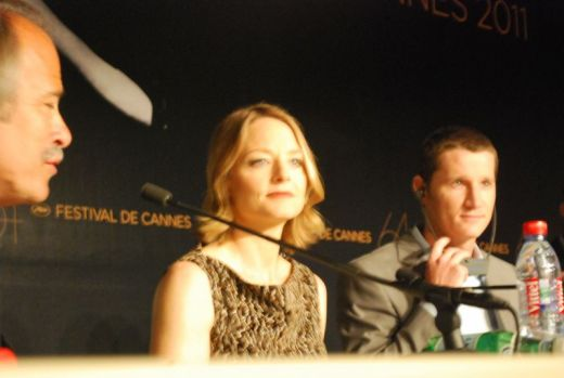 Jodie Foster at *The Beaver* Press Conference