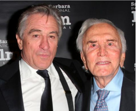 Robert DeNiro & Kirk Douglas