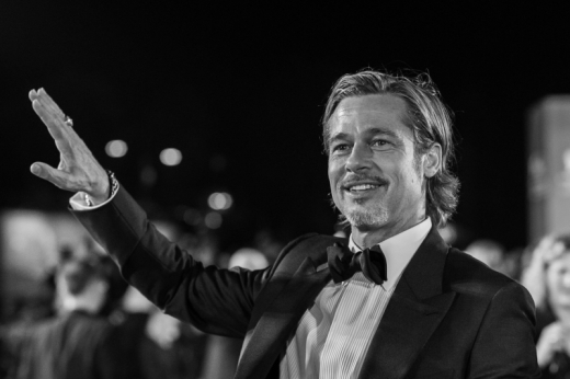 Brad Pitt in Venice