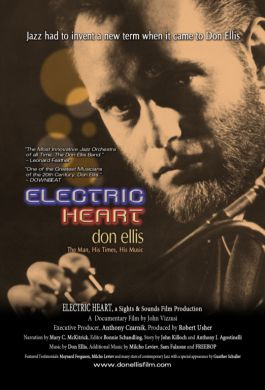ELECTRIC HEART don ellis Official Lobby Poster