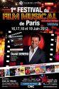 Festival du Film Musical de paris Poster