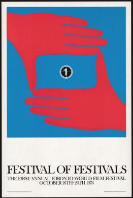 Toronto Festival of Festivals Poster, 1976