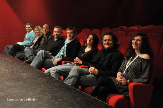 Jury et equipe Talulah festival film merveilleux 2010