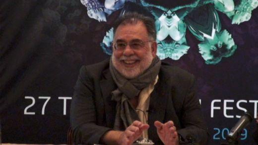 Francis Ford Coppola at the Torino Film Festival