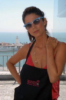 JUANITA ACOSTA, actriz colombiana.