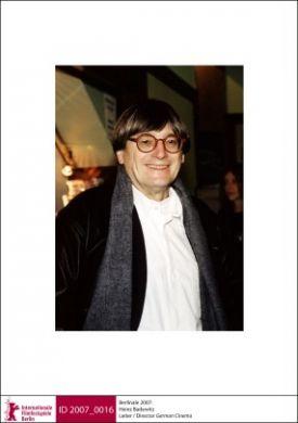 Heinz Badewitz, host of the German Cinema – LOLA@Berlinale series