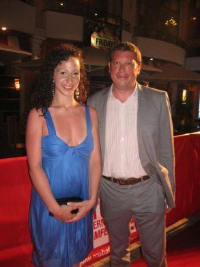 Daniel Iron and Ruba Nadda